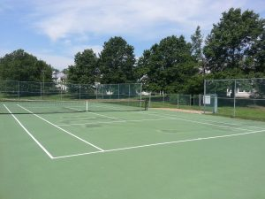 The Villas at Poplar Brook Tennis Court