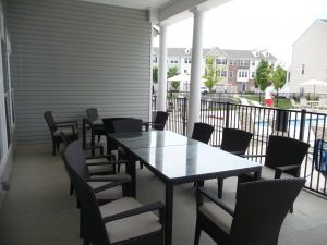 Weston Landing Covered Patio